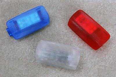 画像1: LEDカーテシイルミネーション(ドアランプ)/クリアレンズ+LED専用基盤セット