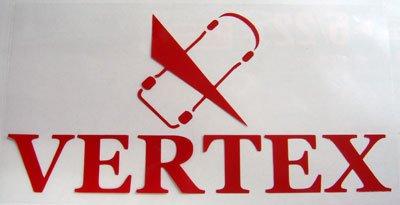画像1: VERTEX切り文字ステッカー W120mm
