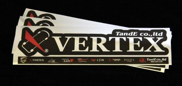 画像1: VERTEXステッカーVer3 (1)