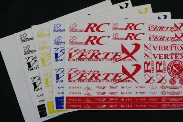 画像1: 【VERTEX-RC】ステッカー Ver.2 (1)