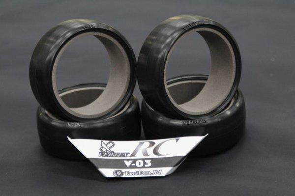 画像1: 【V-03】VERTEX Drift Racing Tire V-03【アスファルト、コンクリ推奨】 (1)