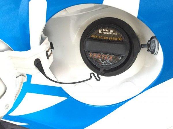 画像1: VERTEX FUEL CAP EMBLEM/フューエルキャップエンブレム (1)