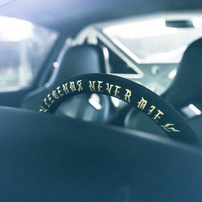 """画像3: VERTEX X MEANSTREETS """"Legends Never Die"""" 330mm Steering Wheel"""