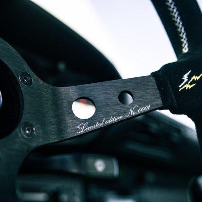 """画像2: VERTEX X MEANSTREETS """"Legends Never Die"""" 330mm Steering Wheel"""