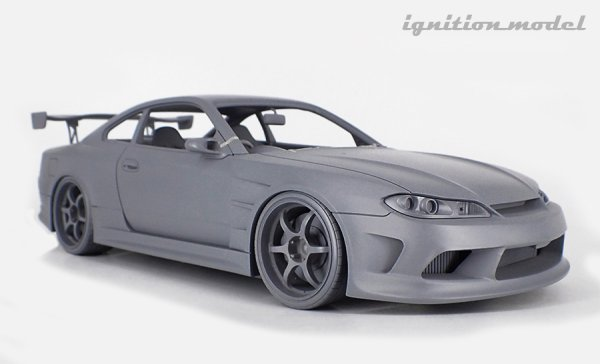 画像1: VERTEX EDGE S15 SILVIA  Blue Metallic/ブルメタ(1/18 Scale) (1)