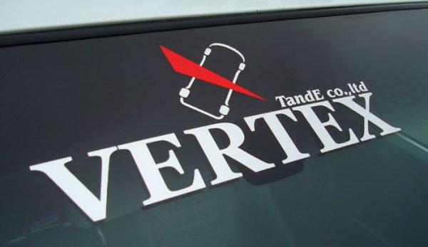 画像1: WEBイベント限定販売!VERTEXステッカー/Attack クロームメッキ (1)