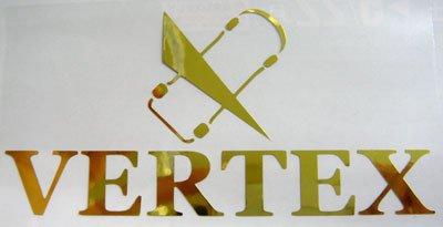画像2: VERTEX切り文字ステッカー W120mm