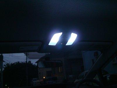 画像1: LED マップイルミネーション 左右セット/T10 ウェッジタイプ(RO-02)