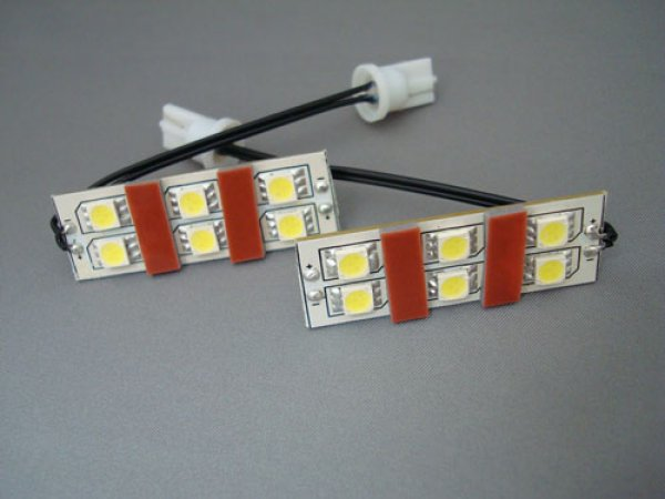 画像1: LEDライセンスランプ/E51エルグランド (1)