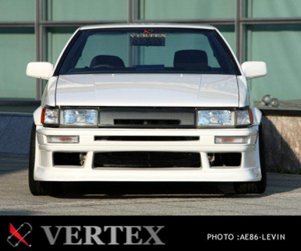 画像1: 【VERTEX】AE86 レビン フロントバンパースポイラー (1)