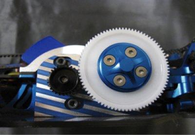 画像2: 【VERTEX】大型スパー対応ベルトテンショナー調整式センターバルクヘッド・モーターマウント for DRB