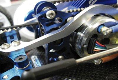 画像3: 【VERTEX】大型スパー対応ベルトテンショナー調整式センターバルクヘッド・モーターマウント for DRB