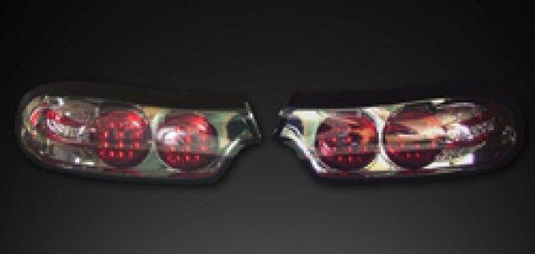 画像1: FD3S RX-7用 LEDテールレンズ(ナチュラルスモーク 左右SET)   (1)
