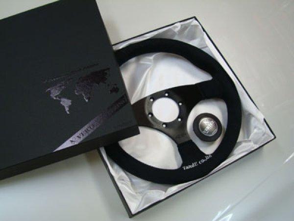 画像1: VERTEX STEERING Premium Black Edition(ヴェルテックスステアリング プレミアムブラックエディション)  (1)