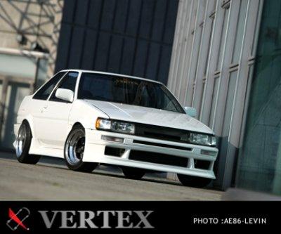 画像1: 【VERTEX】AE86 レビン フロントバンパースポイラー